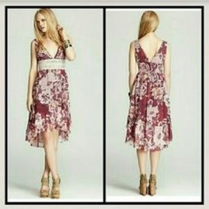Free People High Low Floral Dress